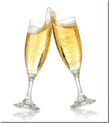 Image result for copos de champanhe